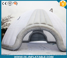 Large clear inflatable dome air tent for sale