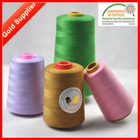 Factory Direct 40 2 100% Polyester Yarn Sewing Thread