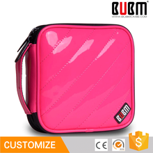 BUBM funny PU leather rose Red color cd storage case for sale