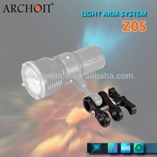 Anti corrosion camera diving arms for diving torch Archon diving mount Z06
