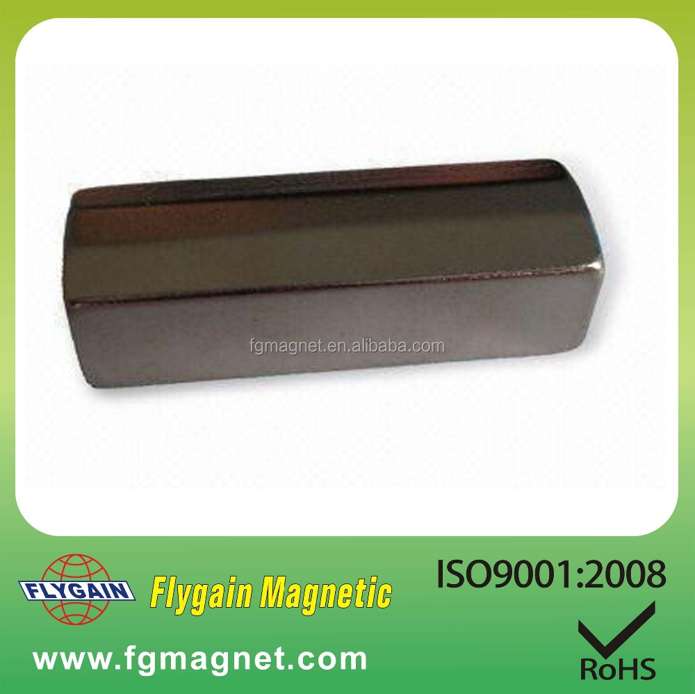 strong customized permanent industrial NdFeB bar magnet