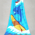 silk screen printing dolphin beach towels