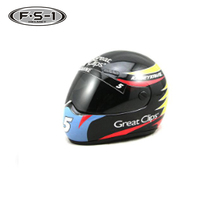 New design ABS + Plastic material Souvenir mini racing helmet motorcycle