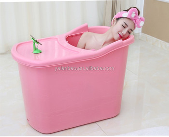 food grade PP material, safety, without any odor, plastic PP5 bathtub for adult