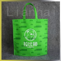 Ultrasonic hot sealing Eco-friendly Nonwoven bags shopping