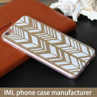OEM custom iml luxury glitter tpu mobile free sample phone case