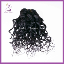 New arrival full cuticle dyeable tangle free fashion spanish wave human hair weft