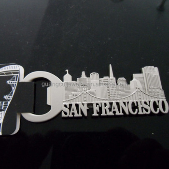 the United States souvenir San Francisco metal bottle opener