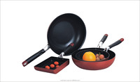Frying pan wholesale, Aluminium made specialized design fry pan set