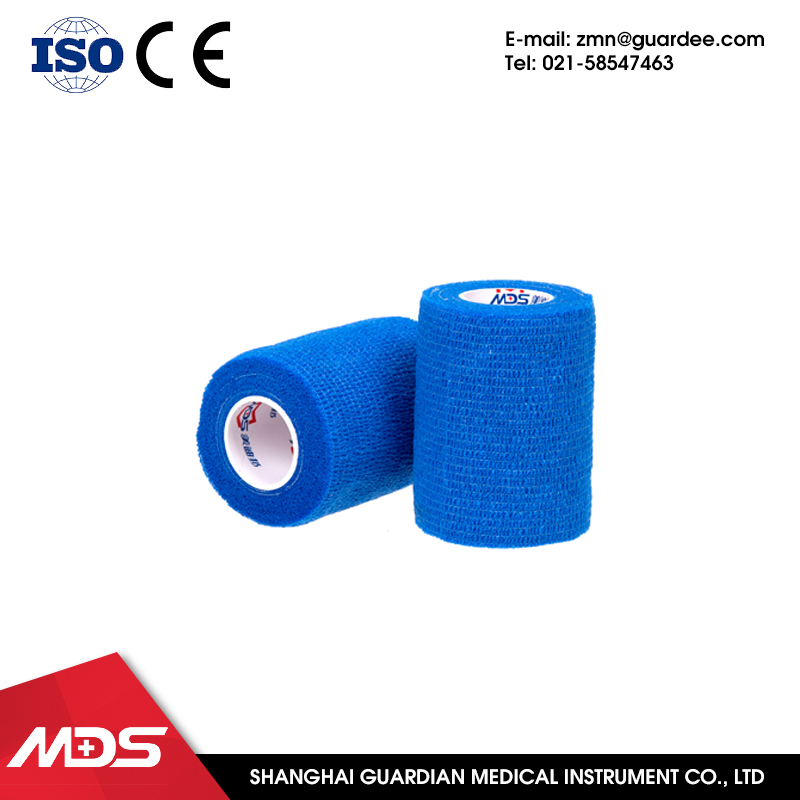 Safety Wrapping waterproof elastic colored bandage medical gauze