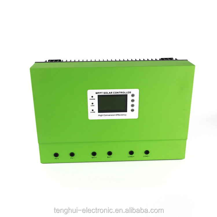 Cost effective 12v24v36v48v 80a100a mppt 5kw solar charge controller with LCD display