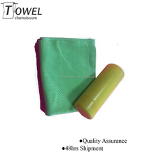 factory customized brand name cleaning products pva towel ,widely usage into home, exercise ,cleaning