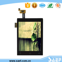 3.5 inch Capacitive touch screen lcd Portrait type with MCU interface for mobile phone