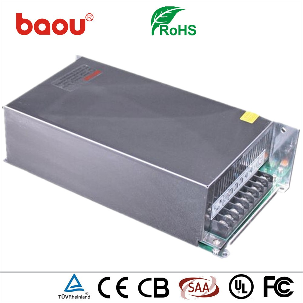 Baou High Quality 18V 500W LED Driver Switching Mode Power Supply