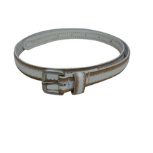 // High quality fashion ladies' PU belt for // decoration popular leather belt parts //
