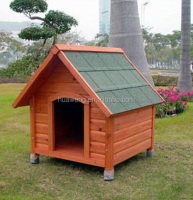 water-proof outdoor wooden dog house