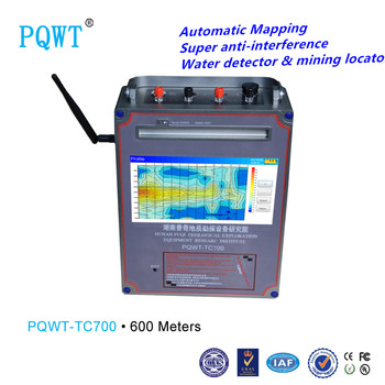 Deep 600m High Accuracy Water Locator With Automatic Mapping Easy Operate