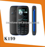 2015 latest hottest mobile phone with dual sim card K199