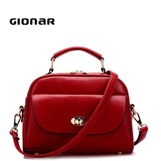 Korea Women Leather Fashion Ladies Small Handbag Made In China