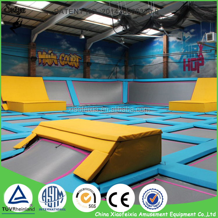 Body-building Mini Rectangle Trampoline For Young People