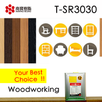 NANPAO Advanced Yellow Transparent solvent based Chloroprene rubber Adhesive For Woodworking