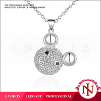 inalis hottest sale jewelry making raw material silver necklace LKNSPCN541