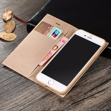 [X-Level] Top Selling PU Flip Phone Cover for iPhone 6 Wallet Case Wholesale
