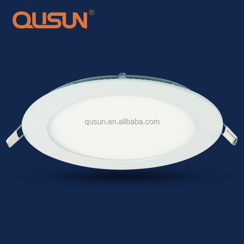 Recessed Ultra Thin Round LED Panel Light And Ceiling Lamp