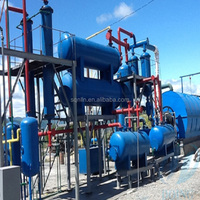 Best Selling pollution-free scrap plastic pyrolysis plant with advanced technology