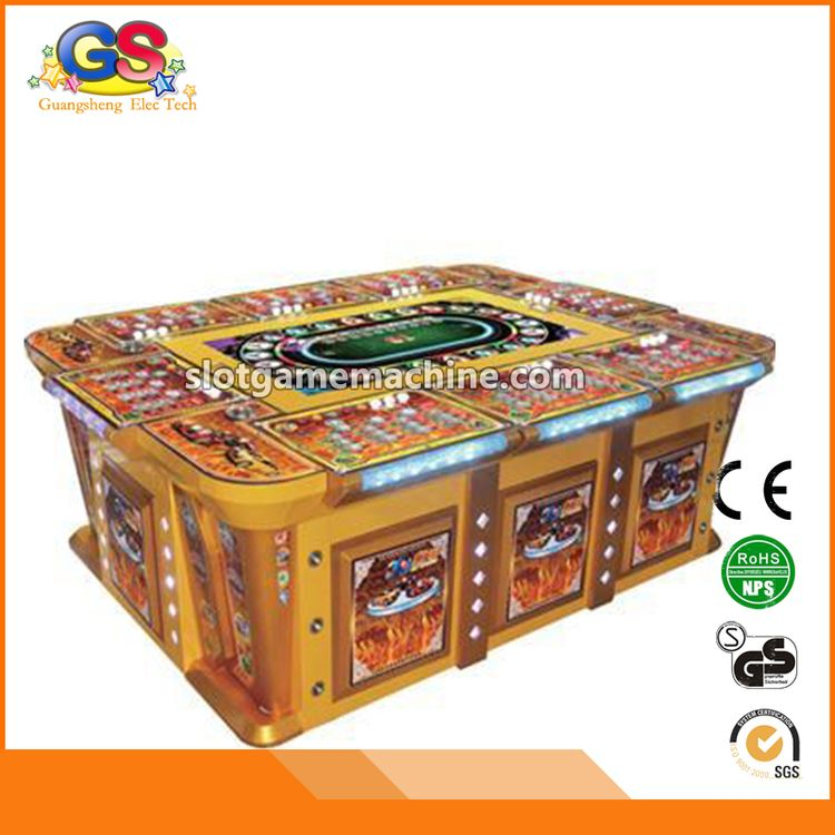 High grade most popular fish 8 player game machine