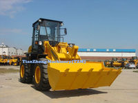 1.6 ton, 0.9m3 articulated mini wheel loader TZL816