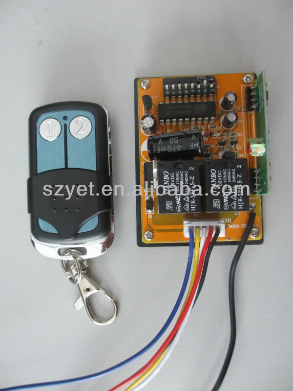 DIP 330 mhz remote control transmitter and receiver