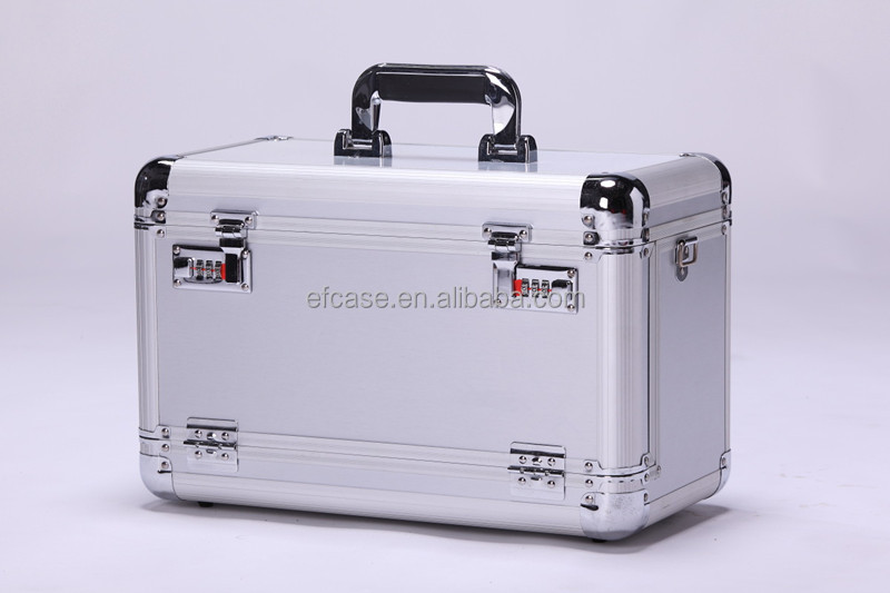 PROFESSIONAL ALUMINUM HAIRDRESSING BEAUTY CASE FOR HAIR STYLIST