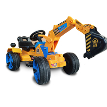 Hot selling baby cars toys electrical pedal model ride on kids excavator for 2~7 years old children