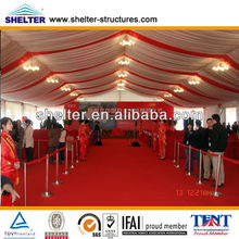 10m x 33m extendable party marquee tents with beautiful decoration for sale