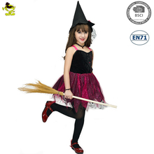 A Party Carnival kids hot sell elegant Witch Girls costume