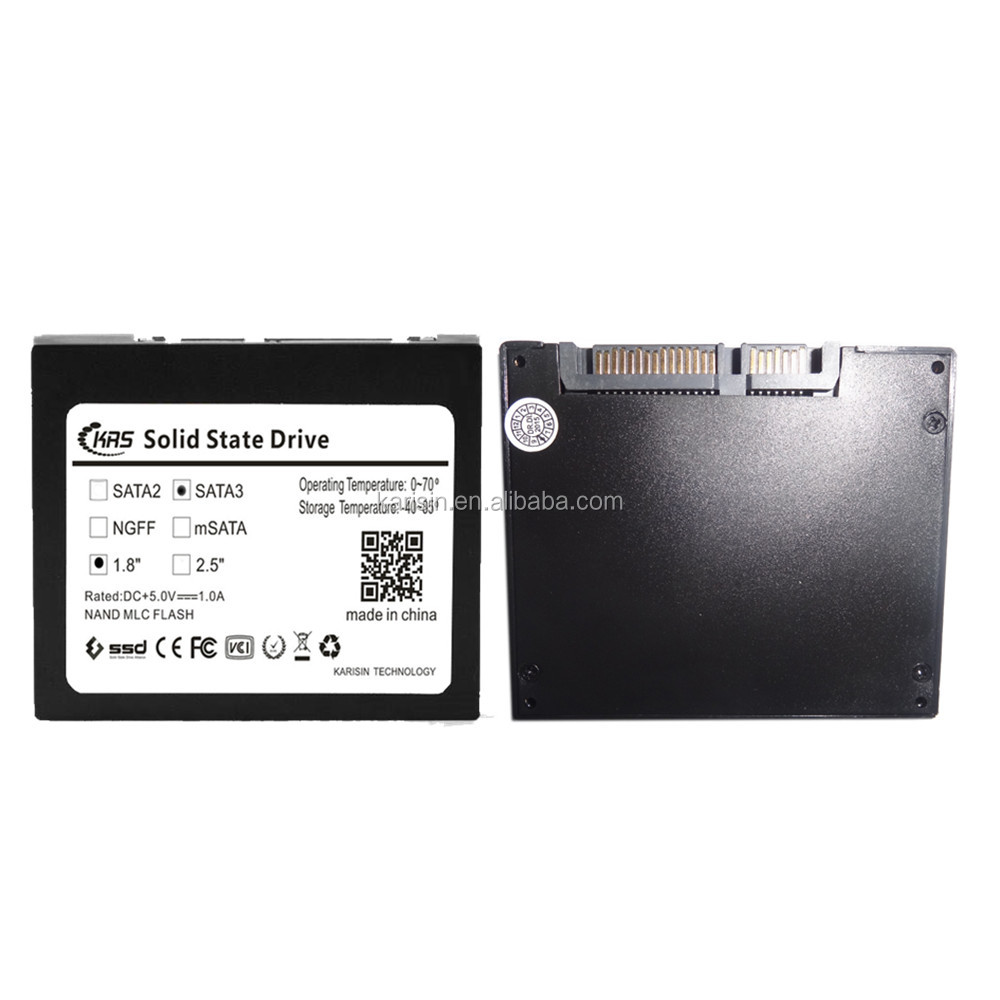 Karisin internal 1.8'' Size SATA3.0 ssd 32 gb laptop 40gb hdd