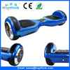 High quality smart 2 wheels electric self balancing scooter bluetooth with rechargeable Samsung LG battery