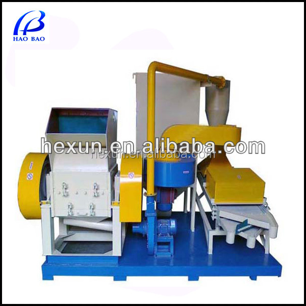 TMJ-600 Automatic Scrap Cable Granulator Copper Separation Machine Recycling Range 99%
