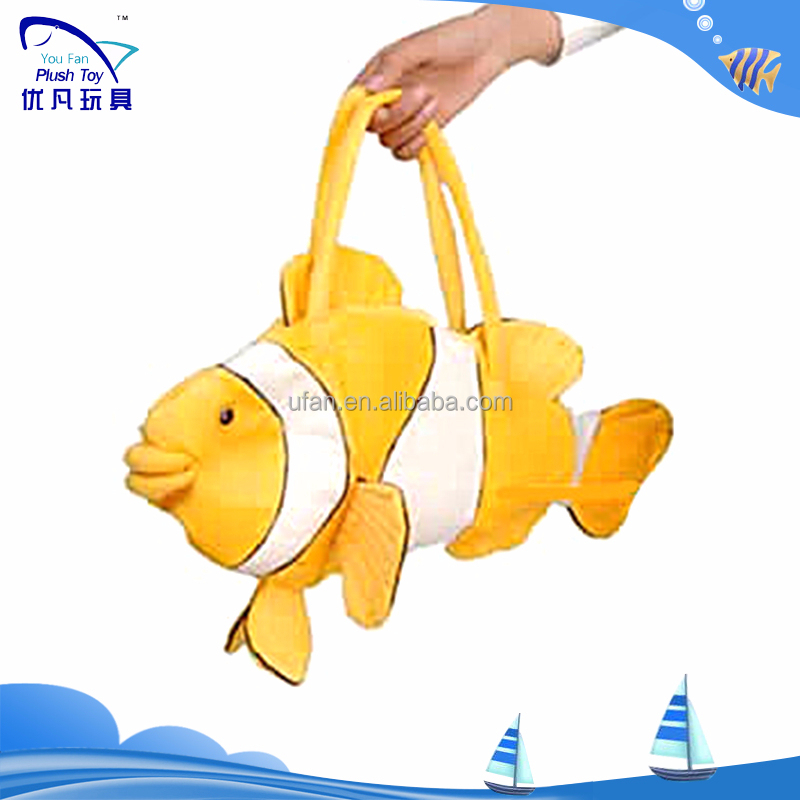 Clown fish school kids Handbags fishes