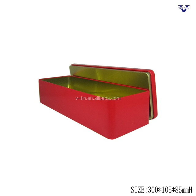 High quality metal tea packaging tin boxes