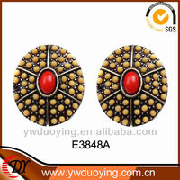 Fashion Jewelry Wholesale Popualr Alloy Seed Bead Earring Designs