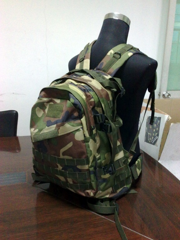 3D tactical backpack