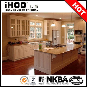 Cheap price small kitchen used kitchen cabinet doors for Cheap small kitchens