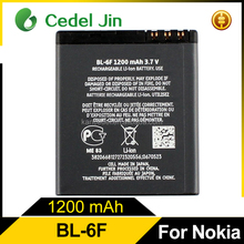 China Newest Durable double IC rechargeable BL-6F battery suitable for Nokia N78 N79 N95 with wholesale price