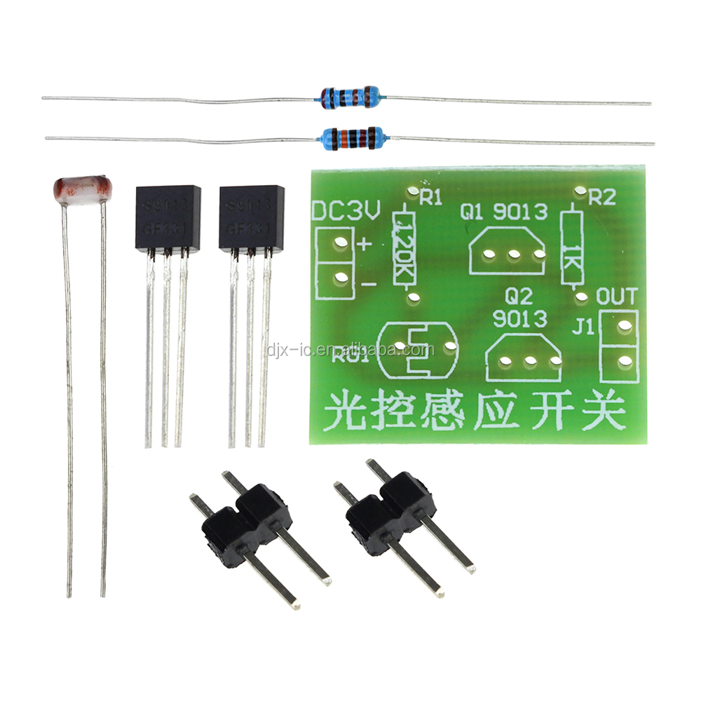 Wholesale Integrated Circuit Switch Online Buy Best Electronic Kits Suite Photosensitive Induction Strongswitch Strong Diy Trainning