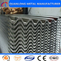 Alibaba China Supplier aluminum zinc roof sheets