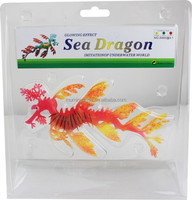 Imitation Silicone Dragon Fish Aquarium Fish