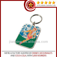 Top selling high quality custom made metal keychain