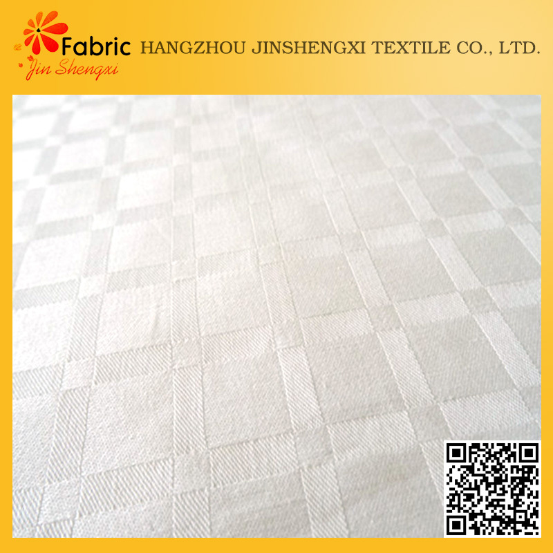 Hot sale check dobby home bedding textile fabric cotton